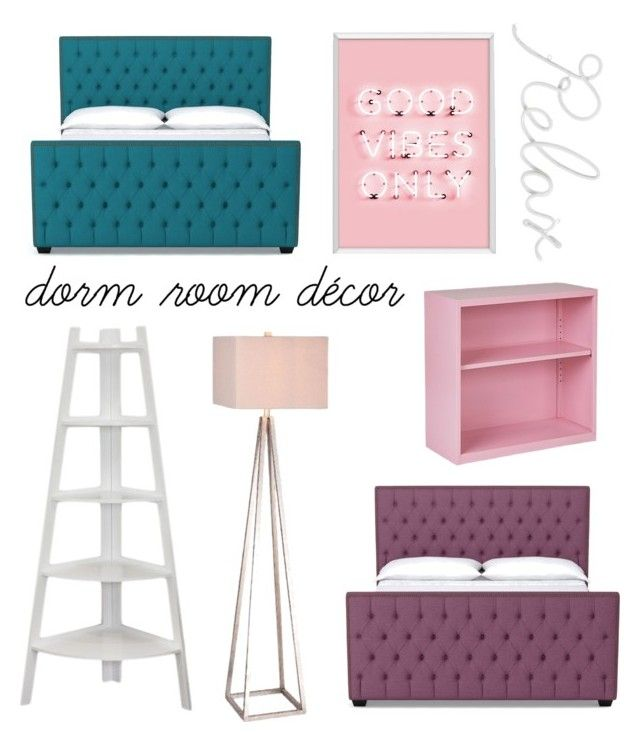 """dorm room"" by geopaganeli on Polyvore featuring interior, interiors, interior design, home, home decor, interior decorating, PBteen, Office Star, Danya B and JAlexander"
