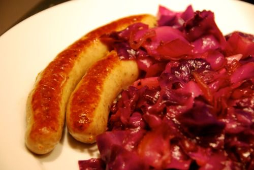 Sautéed Red Cabbage with Onions, Garlic, and Anchovy | Award-Winning Paleo Recipes | Nom Nom Paleo