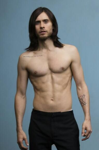 Jared Leto vegan does a body good..