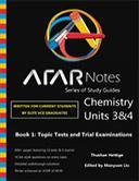 The ATAR Notes Chemistry Unit 3&4 Study Guide is the ultimate exam practice guide. Topic tests, trial exams and solutions manual.