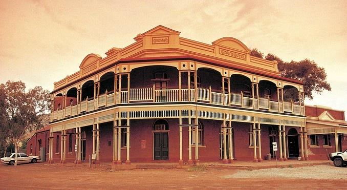 Historic State Hotel, Gwalia, Western Australia