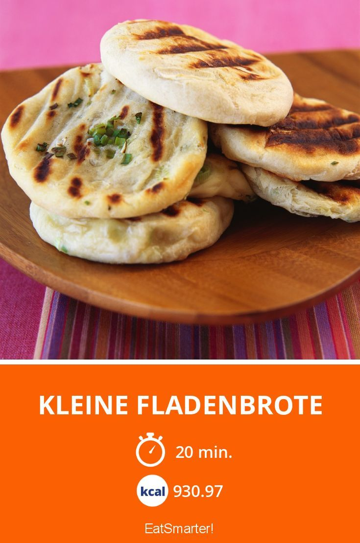Kleine Fladenbrote vom Grill (Diet Recipes Vegan)