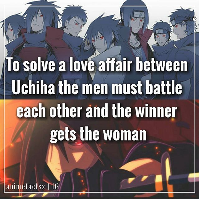 Sigh.. Uchiha.. - #QOTD : Fav Uchiha? Source : kishi Interview 2014