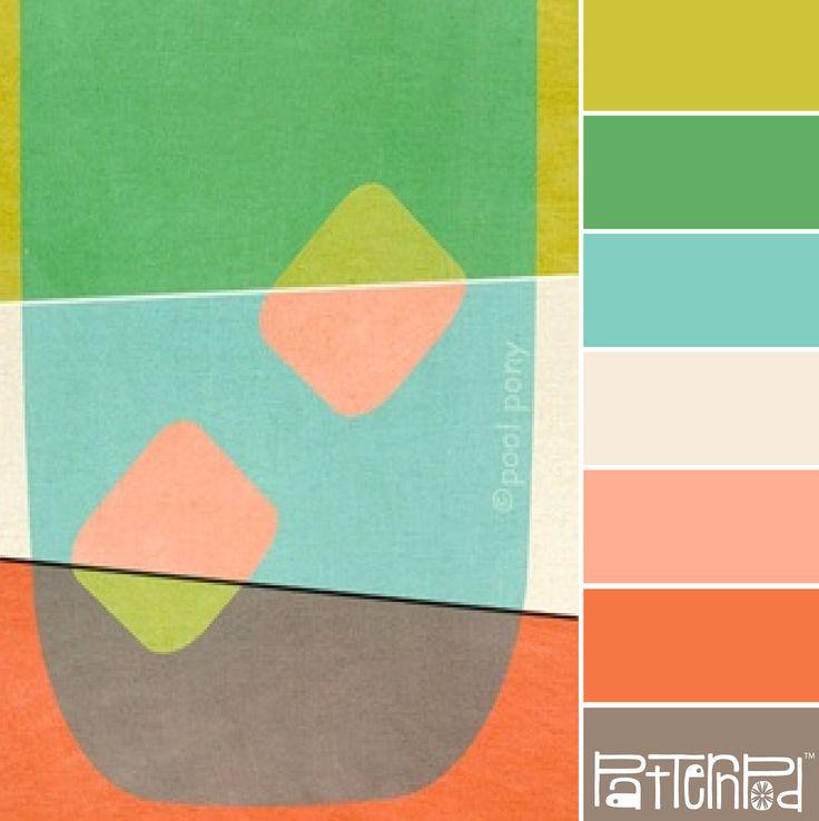 Mod Art #patternpod #patternpodcolor #color