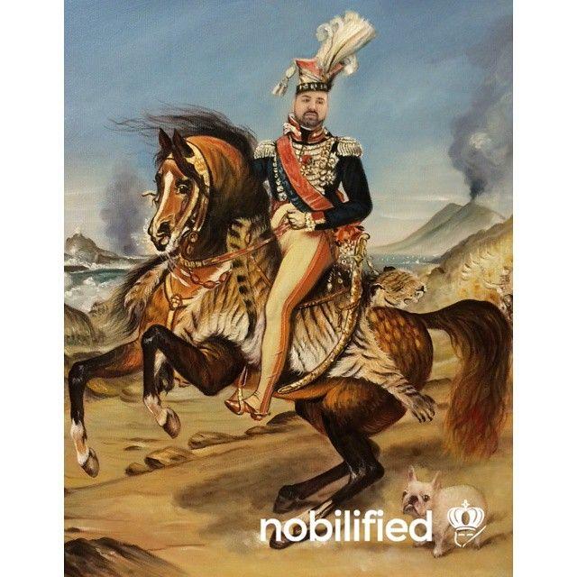 Joachim Murat - Portrait Equestre  Commission your own at nobilified.com
