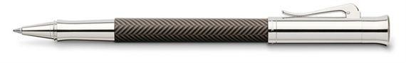 Graf Von Faber-Castell Brown Guilloche Ciselé Brown Pen (Fahrneyspens.com | Item #600245)
