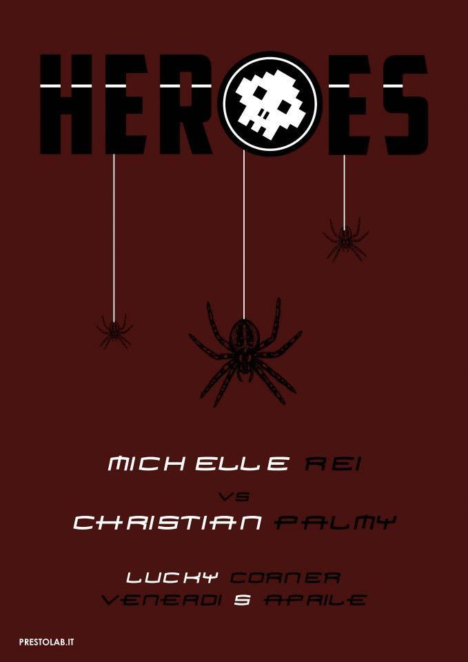 Heroes - locandina Spiderman