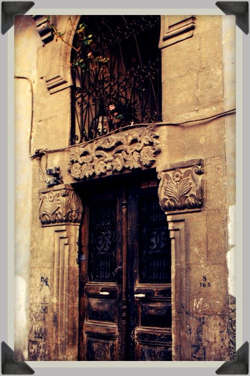 Antioch, Turkey. The main door of a traditional Antioch house.