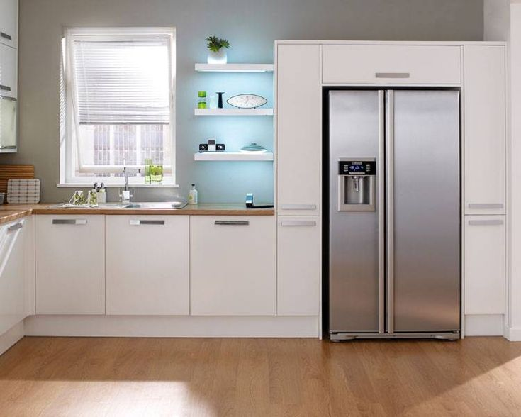 american fridge freezer in kitchen - Google Search