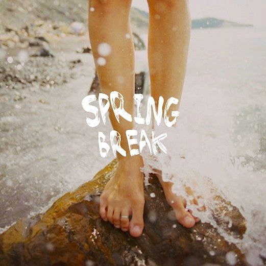 Spring break playlist for making memories in the mountains, on the beach, or anywhere! #sb15 #music