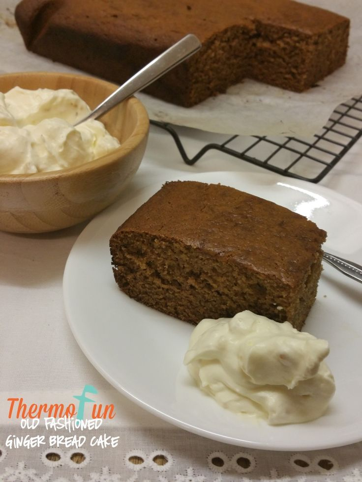 Thermomix Gingerbread Cake - ThermoFun | Thermomix Recipes & Tips