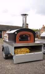 Mobile pizza oven?