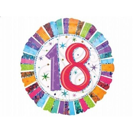 Prezent na 18, który warto mieć pod ręką:)  Foliowy, okrągły Balon na 18 Urodziny napełniony Helem. Balon nadaje się zarówno na urodziny mężczyzny jak i kobiety!  Zrób niespodziankę urodzinową na osiemnaste urodziny.   Sprawdźcie sami:)  http://www.niczchin.pl/balony-z-helem-dla-dzieci-krakow/2762-balon-urodzinowy-z-helem-18te-urodziny.html  #balon #balony #balonyzhelem #balonyhelowe #urodziny #zabawki #niczchin #krakow