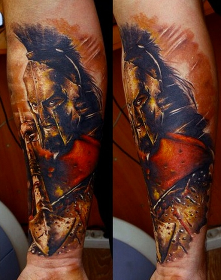 Spartan warrior art pinterest spartan warrior and for Italian warrior tattoos