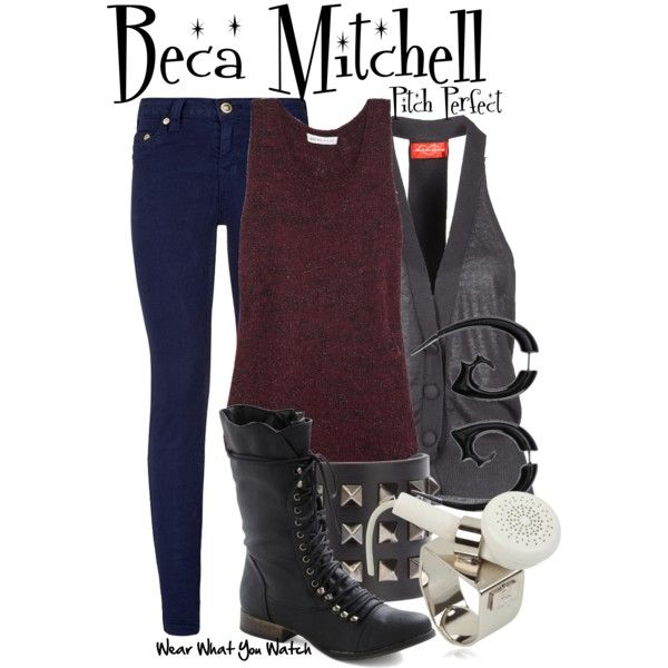 Inspired by Anna Kendrick as Beca Mitchell in 2012's Pitch Perfect.