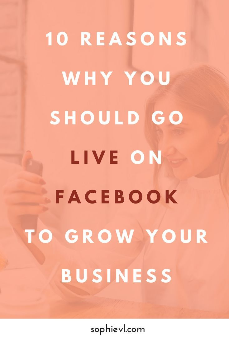 10 Reasons Why you Should Go Live on Facebook to Grow your Business - Live Stream, Live Video, Business Growth, Visible, Facebook Marketing, Social Media Marketing, #live #livestream #facebooklive #fblive #livevideo