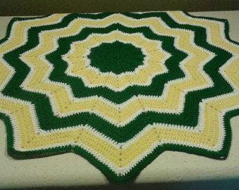 Green Bay Packers Baby Blanket Toddler, John Deere Green Yellow White