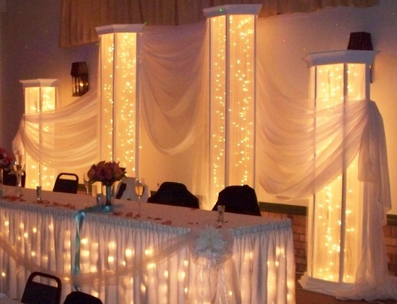 Wedding Columns Lighted By Jaketh55 On Etsy 24000