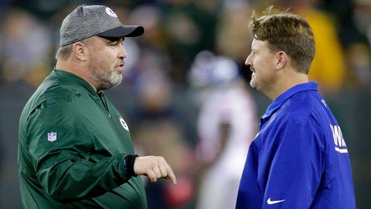 McAdoo, McCarthy bring similar styles to Giants-Packers showdown (Mark Hoffman)
