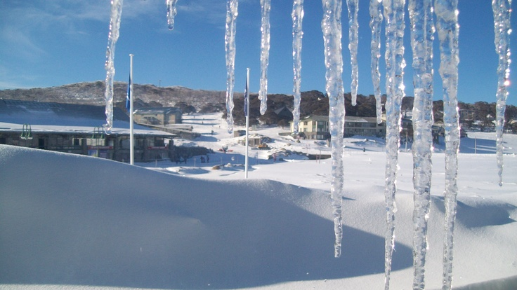 Icicles, Perisher NSW - July 2009
