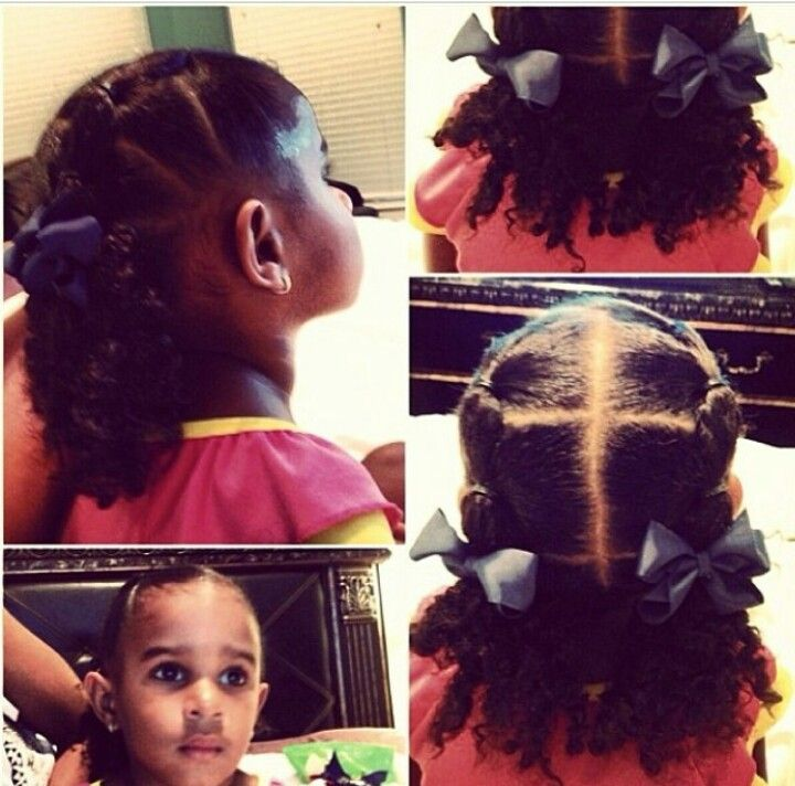 Miraculous 1000 Images About Little Black Girls Hair On Pinterest Black Hairstyles For Women Draintrainus