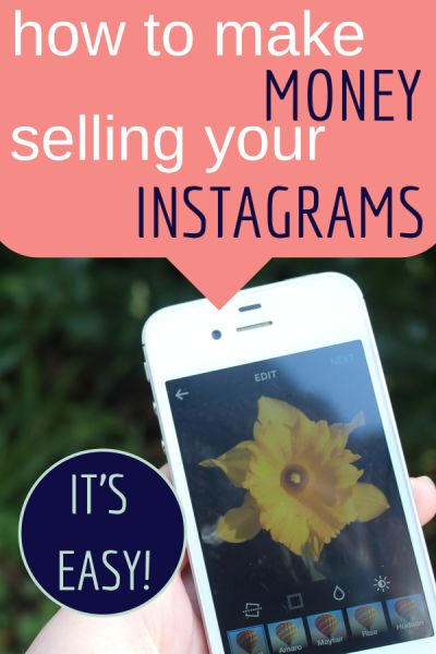 How to make money selling your Instagram images.