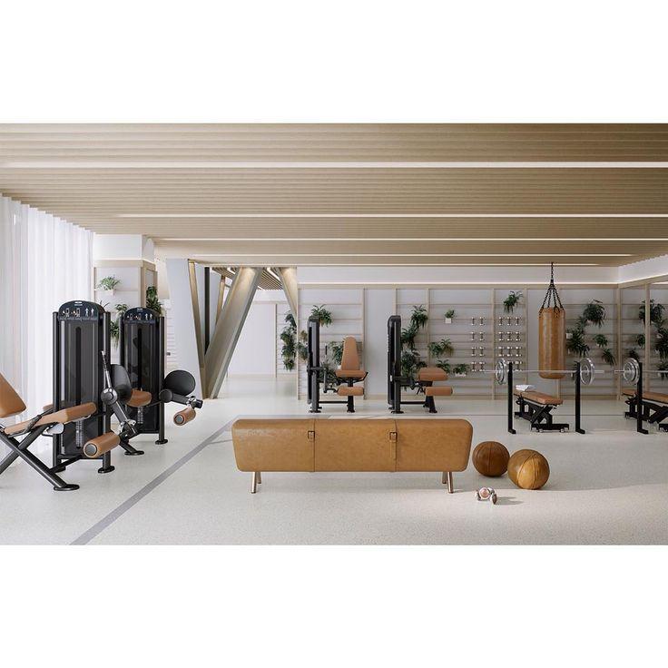 Die besten 25+ Fitnessstudio architektur Ideen auf Pinterest - spa und wellness zentren kreative architektur