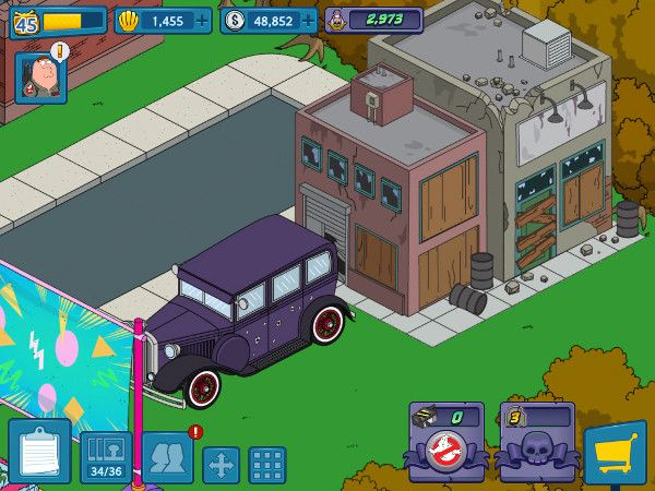 Family Guy Cutaways Video Tests Game Assets Design Reference