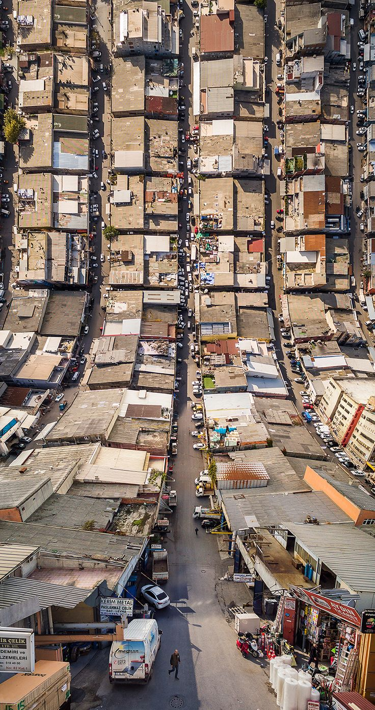 Fotógrafo turco junta imagens aérea e plana e inova na fotografia – Design Conceitual