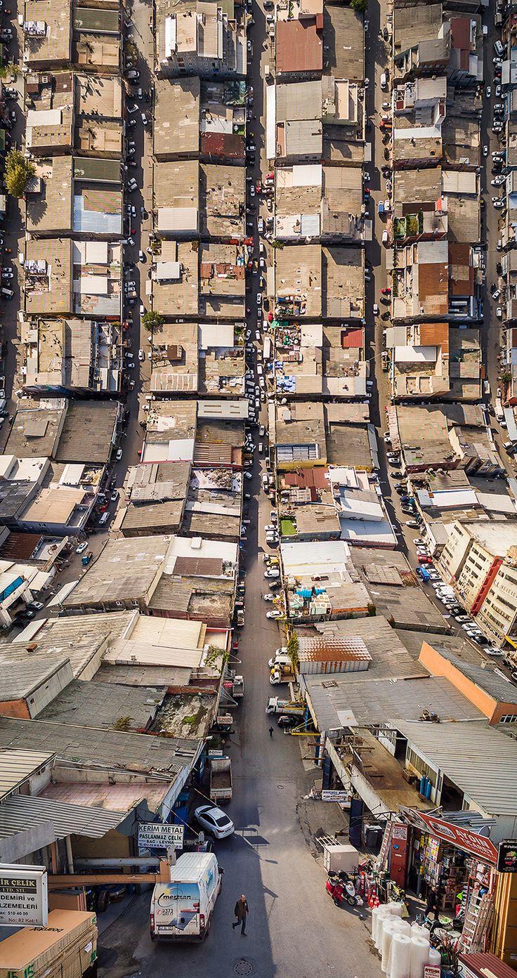 aydın büyüktaş turns turkey upside down to form surreal city landscapes
