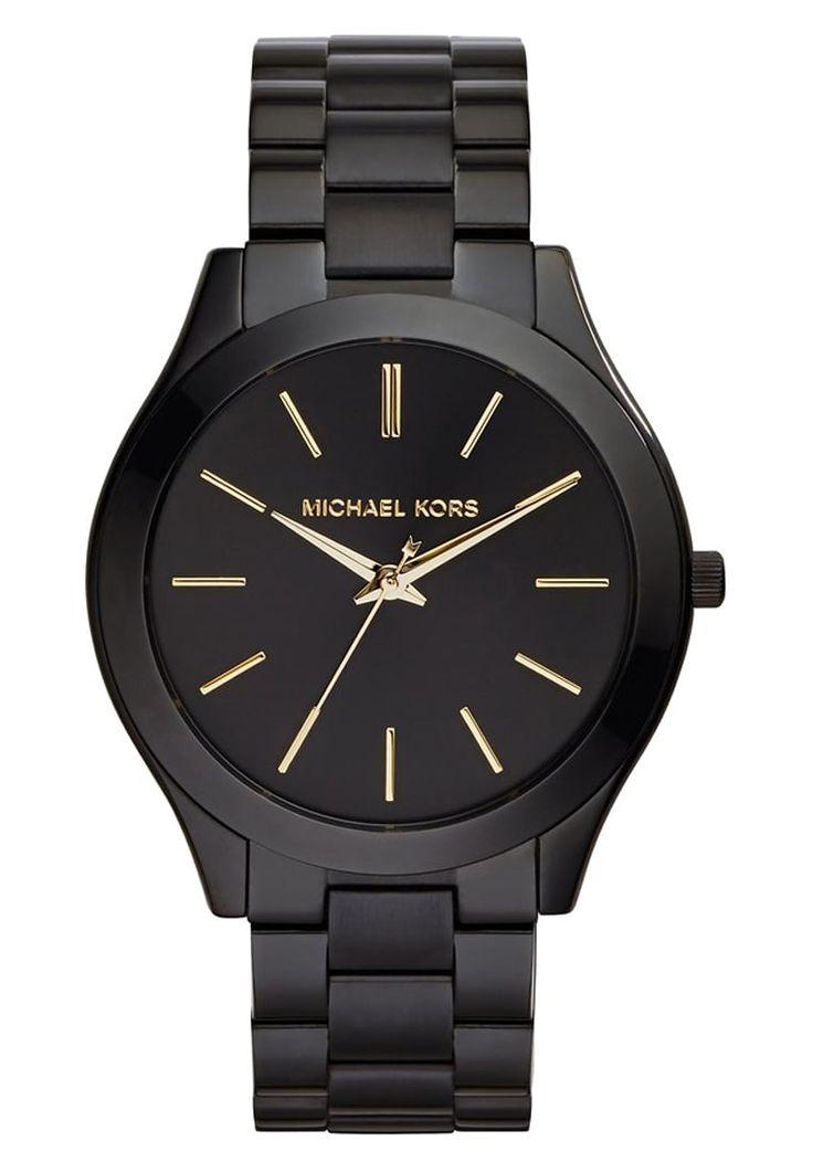 Montres Michael Kors RUNWAY - Montre - schwarz noir: 200,00 € chez Zalando (au 02/06/16). Livraison et retours gratuits et service client gratuit au 0800 740 357.