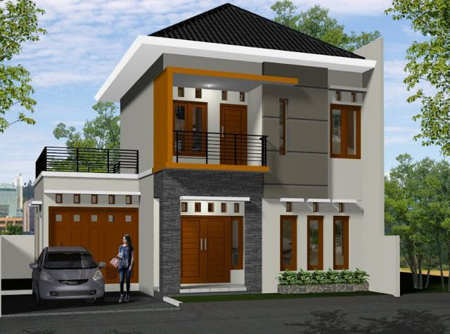 70 Examples Of Simple House Models That Look Luxurious And Modern Andri S Blog Simple House Design Minimalist Home Minimalist House Design