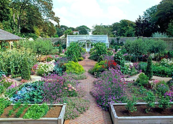 Image Result For Ornamental Vegetable Garden Vegetable Garden Design Garden Layout Vegetable Garden Raised Beds