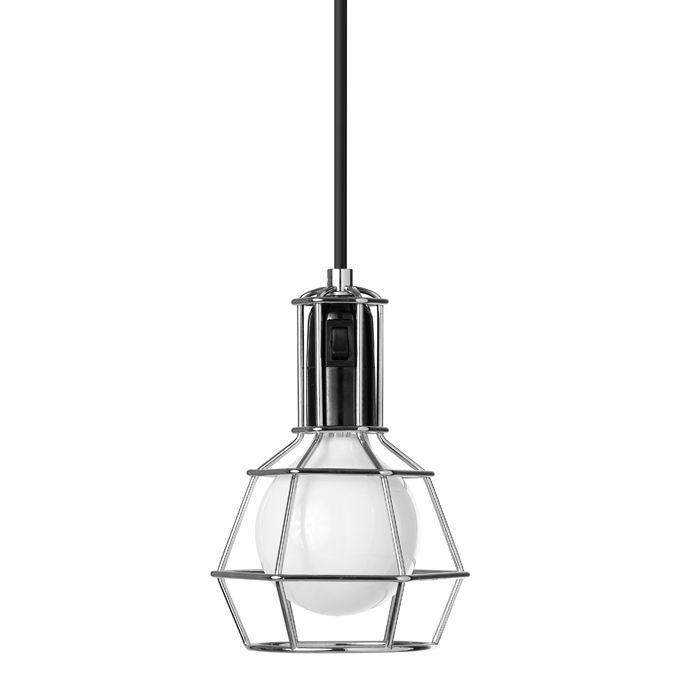 Work Lamp Silver, Design House Stockholm