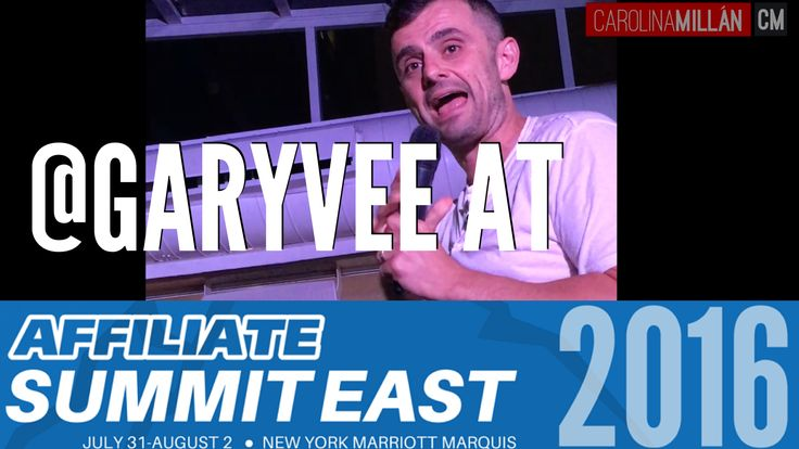 #garyvee #askgaryvee Last week I had the pleasure of attending the Affiliate Summit East in New York City. As you've seen in my previous post, I got to meet and interview Scott Stratten, aka @Unmarketing, one of …