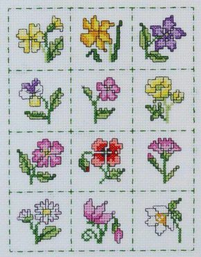 tiny flowers, great for gift tags (picture only)