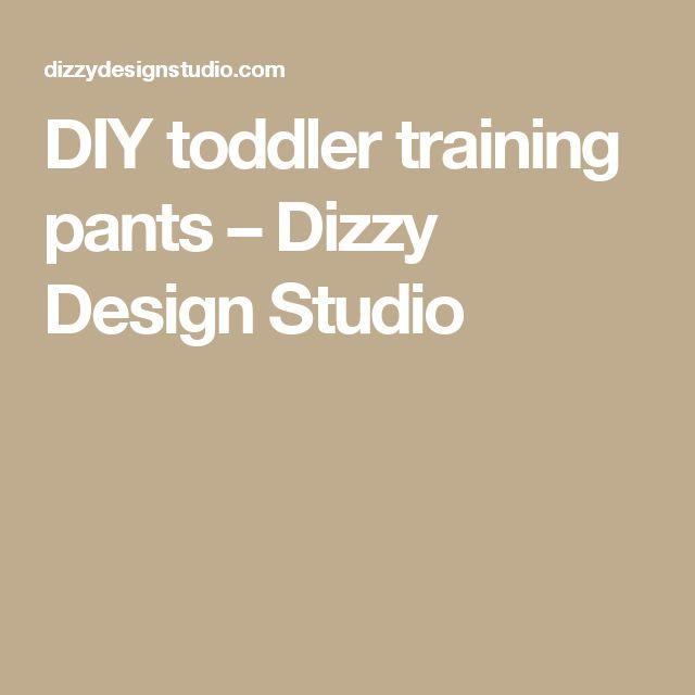 DIY toddler training pants – Dizzy Design Studio