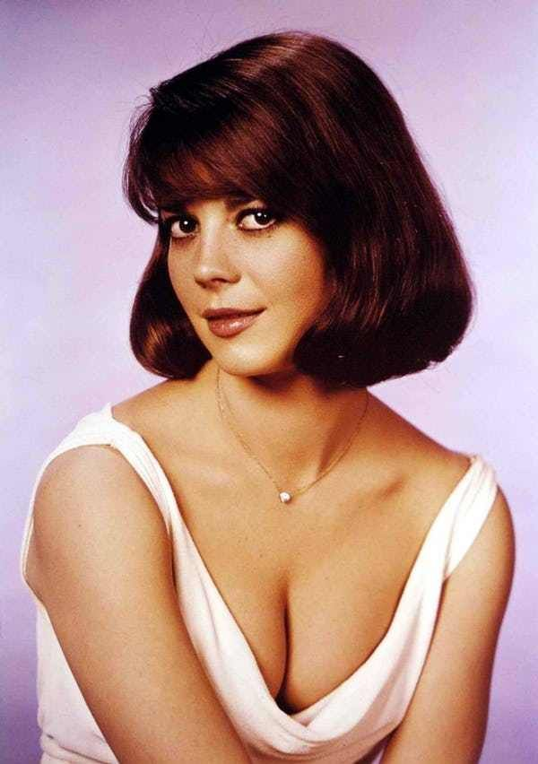 Natalie Wood in Low Neckline D... is listed (or ranked) 2 on the list The 26 Hottest Natalie Wood Photos