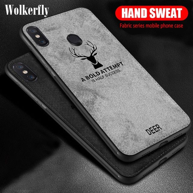 Shockproof Deer Cloth Cases For Xiaomi Redmi Note 6 Pro 5A