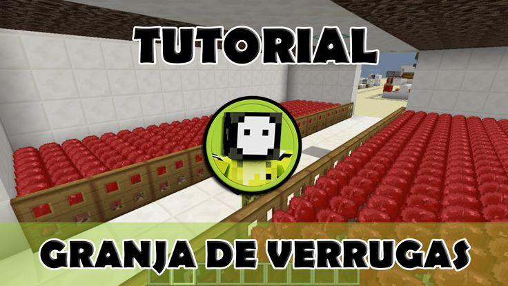 Tutorial Minecraft | Mega granja de verrugas del Nether semi automática
