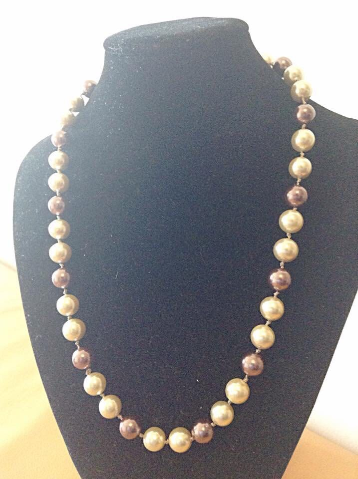 A personal favorite from my Etsy shop https://www.etsy.com/ca/listing/291636045/long-pearl-necklaces