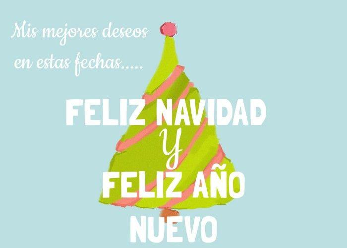 Felicitaciones para navidad. Feliz navidad y feliz año nuevo