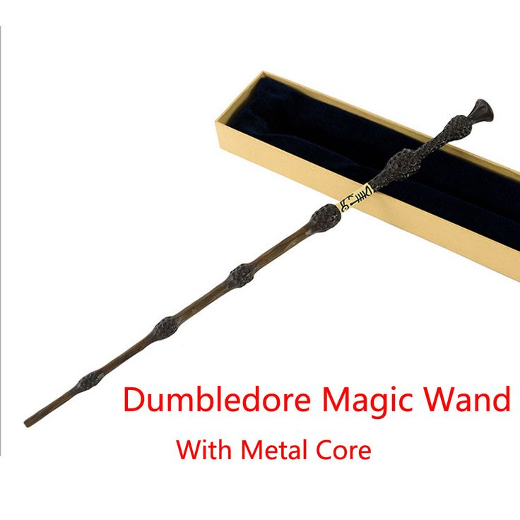 New Metal Core Albus Dumbledore Magic Wand/Harry Potter  Magical Wands/ High Quality Gift Box Packing without LED light