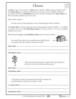 A sentence, Worksheets and Sentences on Pinterest
