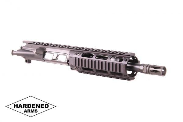 """Product Details: 8.5"""" 300 Blackout Tactical AR15 Quad Rail Upper"""