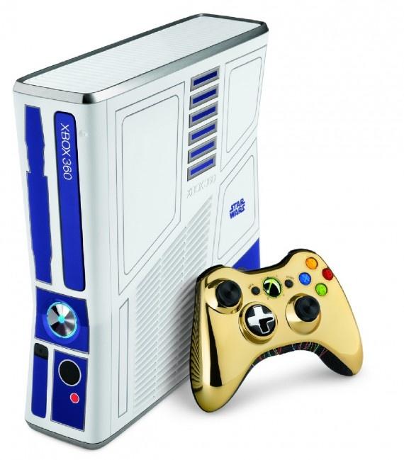 Star Wars x Xbox 360 Console – Kinect Limited Edition Bundle 'R2D2 x C-3PO'