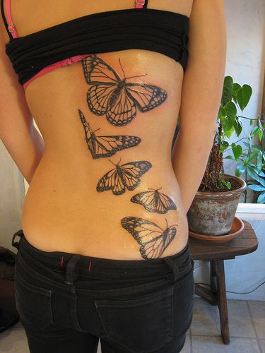 http://99tattoodesigns.net/monarch-butterfly-tattoo/ Monarch Butterfly Tattoo tattoo tattooidea tattoodesign besttattoo