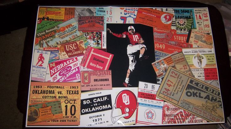 OU tickets collage