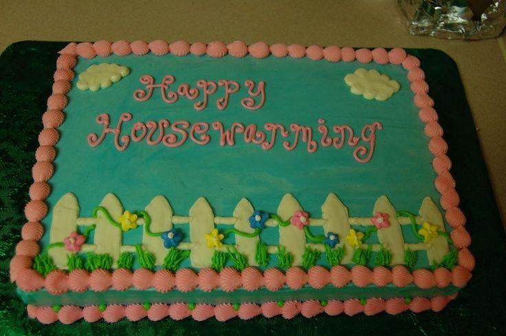 Cake Decorating Ideas For Housewarming : House Warming Cake Ideas housewarming cake Projects to ...