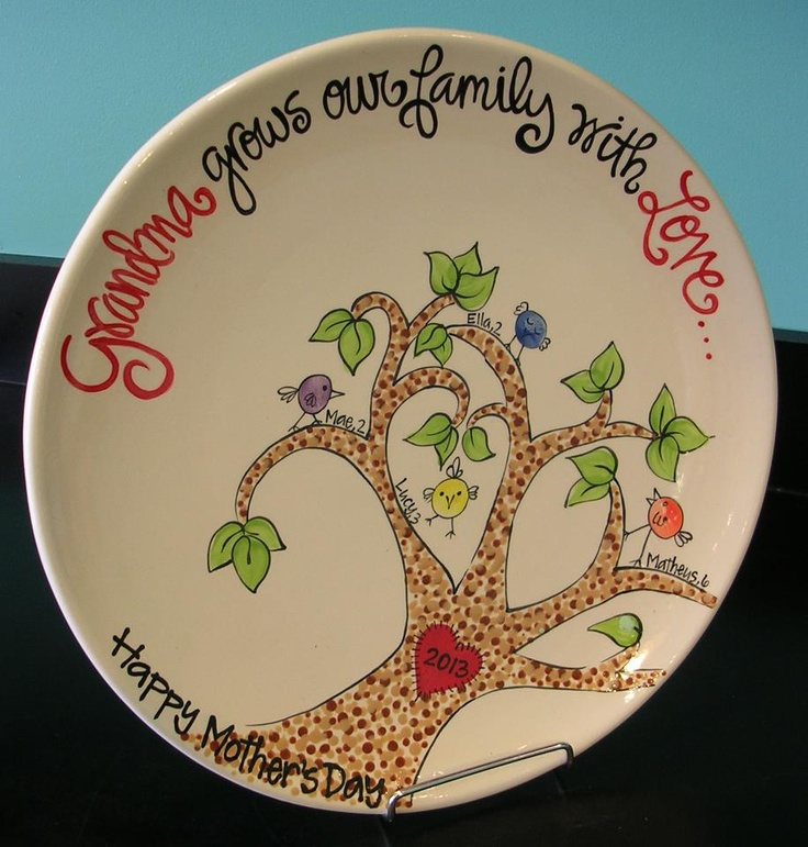 Created by HOT POTS POTTERY & Best 29 Motheru0027s Day images on Pinterest | Motheru0027s day Painted ...